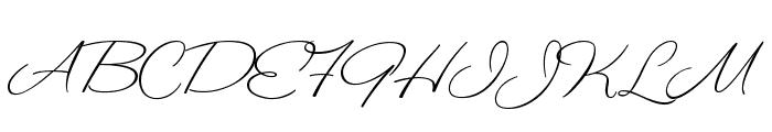 ValentinaJF Font UPPERCASE