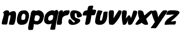 Valentine Oblique Font LOWERCASE