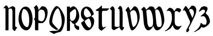 Valerius Condensed Font UPPERCASE