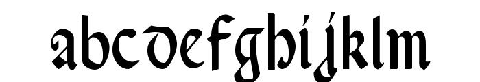 Valerius Condensed Font LOWERCASE