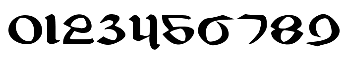 Valerius Expanded Font OTHER CHARS