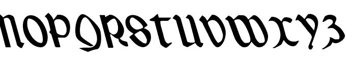 Valerius Leftalic Font UPPERCASE
