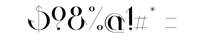 Valkyrie Extended Font OTHER CHARS