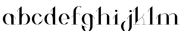 Valkyrie Extended Font LOWERCASE