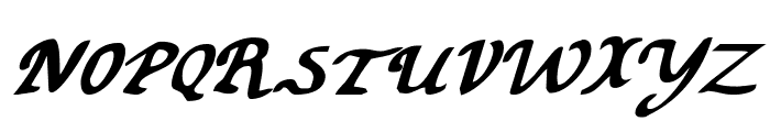 Valley Forge Bold Italic Font UPPERCASE