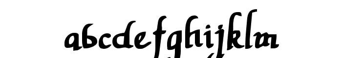 Valley Forge Bold Font LOWERCASE