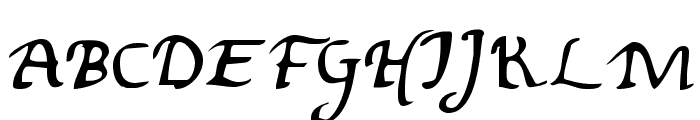 Valley Forge Font UPPERCASE