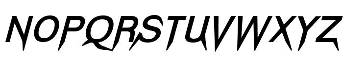 Vampetica-BoldItalic Font UPPERCASE