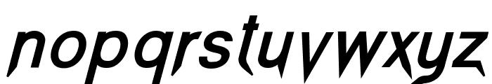 Vampetica-BoldItalic Font LOWERCASE