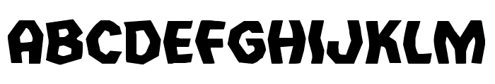 Vampire Bride Expanded Font LOWERCASE