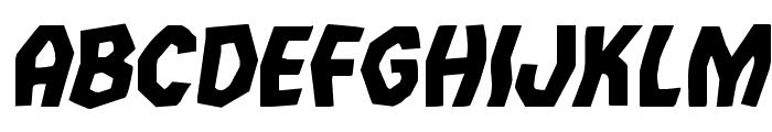 Vampire Bride Italic Font LOWERCASE