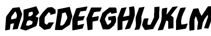 Vampire Bride Rotalic Font LOWERCASE