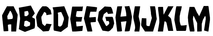 Vampire Bride Font UPPERCASE