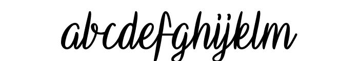 Vampire Calligraphy Font LOWERCASE
