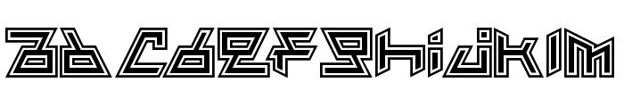 Vampire Nation Regular Font LOWERCASE