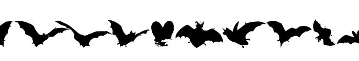 VampyrBats Font UPPERCASE