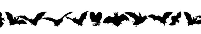 VampyrBats Font LOWERCASE