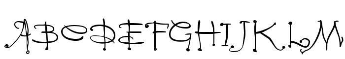 Vampyriqua Font UPPERCASE