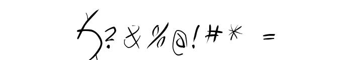 Vampyrish Font OTHER CHARS