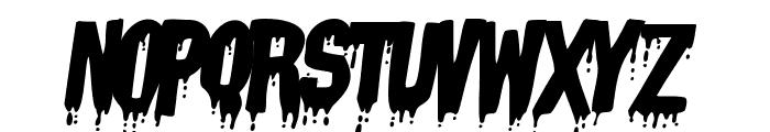 VampyrishABC-Oblique Font LOWERCASE