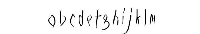 Vampyrish Font LOWERCASE