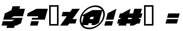 VanHelsing Font OTHER CHARS