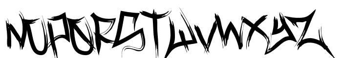 VanceJackson-Regular Font UPPERCASE