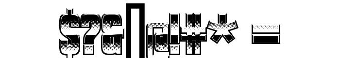 VanchromeClear-Regular Font OTHER CHARS