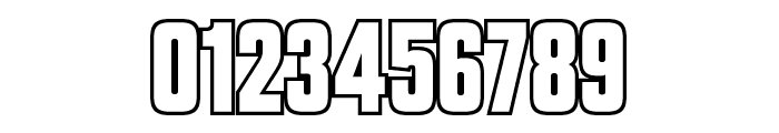 VanchromeOutline-Regular Font OTHER CHARS
