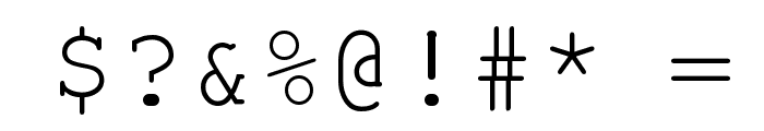 Vandaloop Font OTHER CHARS