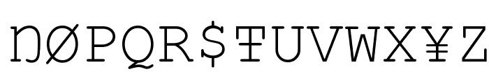 Vandaloop Font UPPERCASE