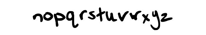 Vanessa Regular Font LOWERCASE