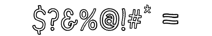 Vanilla Candy Font OTHER CHARS