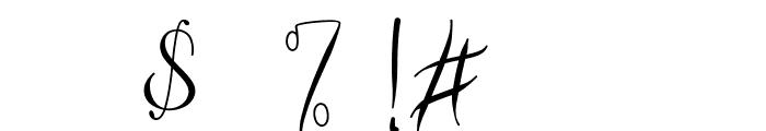 Vanilla Mermaid Font OTHER CHARS