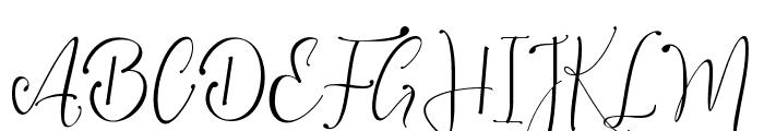 Vanilla Mermaid Font UPPERCASE
