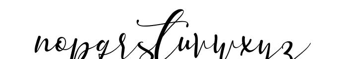 Vanilla Mermaid Font LOWERCASE
