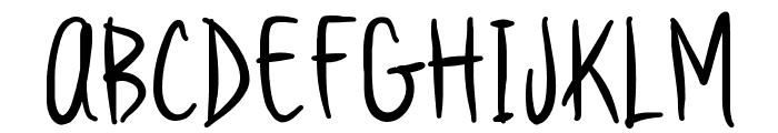 Vanilla Twilight Font UPPERCASE
