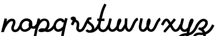 Vanillate Font LOWERCASE