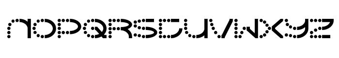 Vanish Font UPPERCASE