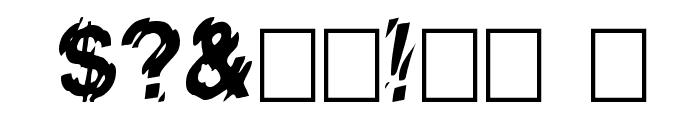 VanishInTheHeat Font OTHER CHARS