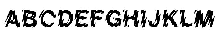 VanishInTheHeat Font UPPERCASE