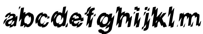 VanishInTheHeat Font LOWERCASE