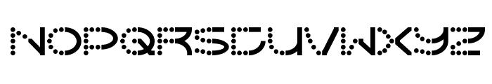 Vanish Font LOWERCASE