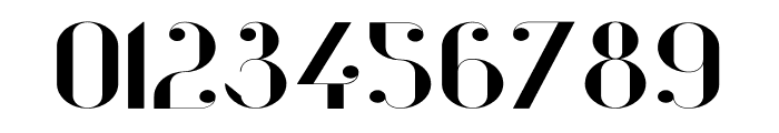 Vanity-BoldWide Font OTHER CHARS