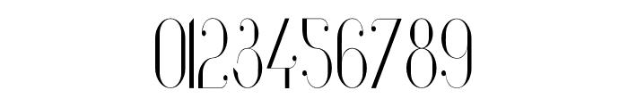 Vanity-LightNarrow Font OTHER CHARS