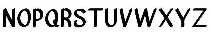Vanjar Font UPPERCASE