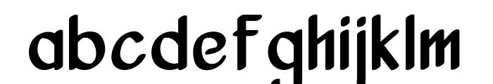 Vanjar Font LOWERCASE