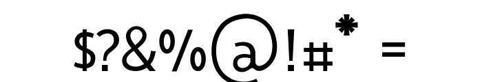 Vanlose BookType Normal Font OTHER CHARS