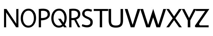 Vanlose BookType Normal Font UPPERCASE