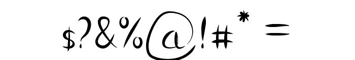 Vanlose Handwritten Font OTHER CHARS